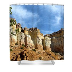 Echo Amphitheater Hike Shower Curtain