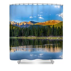Echo Lake 5 Shower Curtain