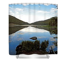 Echo Lake Study 1 Shower Curtain