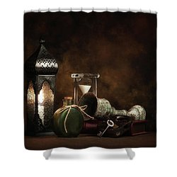 Shower Curtain featuring the photograph Eclectic Ensemble by Tom Mc Nemar