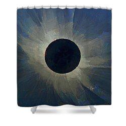 Eclipse 2017 Shower Curtain