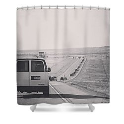 Eclipse Bound Shower Curtain