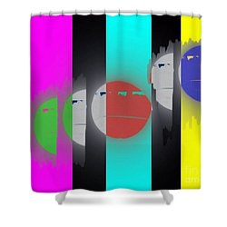 Eclipse Of Love Shower Curtain
