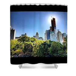 #eclipse #shadow #solareclipse #solar Shower Curtain