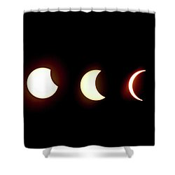 Eclipse To Totality Shower Curtain
