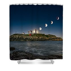 Eclipsing The Nubble Shower Curtain
