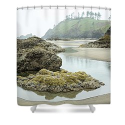 Ecola Tidepool Shower Curtain