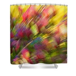 Ecstasy Shower Curtain by Michelle Twohig