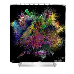 Ectasy Shower Curtain by Dee Flouton