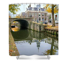 Edam Town Hall Shower Curtain