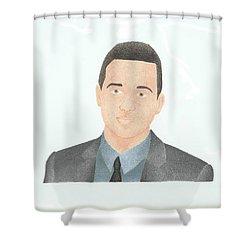 Eddie Kaye Thomas Shower Curtain