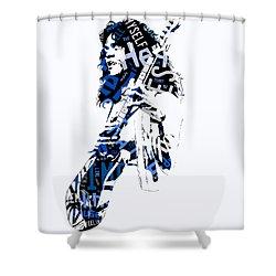 Eddie Van Halen Why Can't This Be Love Lyrics Shower Curtain