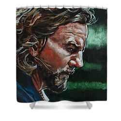 Eddie Vedder Shower Curtain