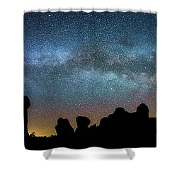 Shower Curtain featuring the photograph Eden by Darren White