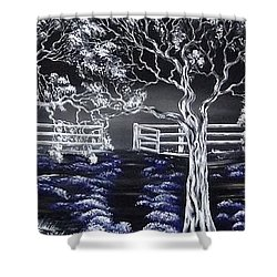 Eden Gate. Shower Curtain