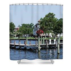 Edenton Waterfront Shower Curtain