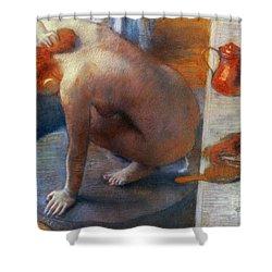 Edgar Degas: The Tub, 1886 Shower Curtain by Granger