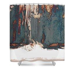 Edge 3 C Shower Curtain by Paul Davenport