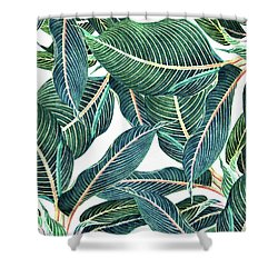 Edge And Dance Shower Curtain