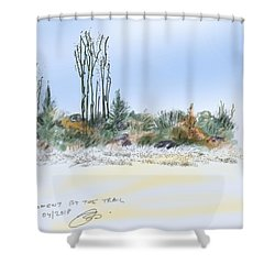 Edge Of The Okefenokee Shower Curtain