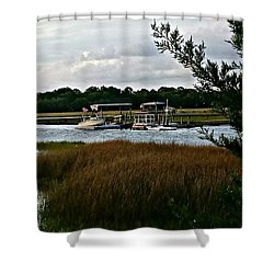 Edge Of The Park Shower Curtain