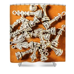 Edge Of Victory Shower Curtain