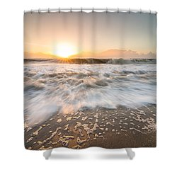 Shower Curtain featuring the photograph Edisto Island Sunrise by Serge Skiba