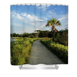 Shower Curtain featuring the photograph Edisto by Jessica Brawley