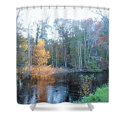 Edisto River Shower Curtain by Kay Gilley
