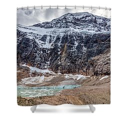 Edith Cavell Landscape Shower Curtain