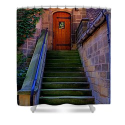 Shower Curtain featuring the photograph Edsel Ford Mansion by Michael Rucker