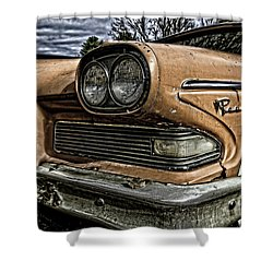 Edsel Ford's Namesake Shower Curtain