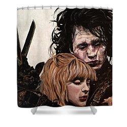 Edward And Kim Shower Curtain