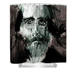 Edwin 3 Shower Curtain