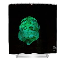 Eerie Apparition Shower Curtain