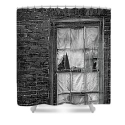 Eerie Curtains Shower Curtain