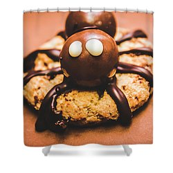 Eerie Monsters. Halloween Baking Treat Shower Curtain