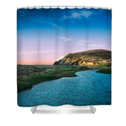Effect Of Dreams Shower Curtain