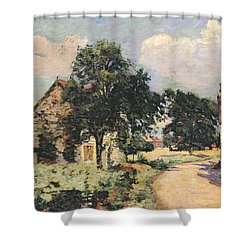 Effect Of The Sun Shower Curtain by Jean Baptiste Armand Guillaumin
