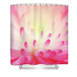 Shower Curtain featuring the photograph Effervescence by Aimelle