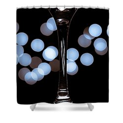 Effervescence Shower Curtain by David Sutton