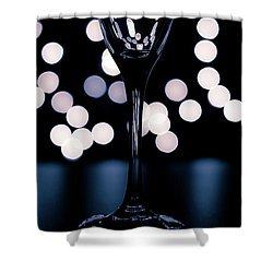 Shower Curtain featuring the photograph Effervescence II by David Sutton