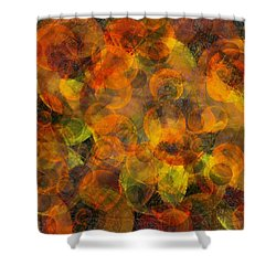 Effervescent Ties Shower Curtain