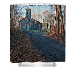 Egg Hill Church  Shower Curtain
