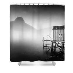 Egulfed By Mist Shower Curtain