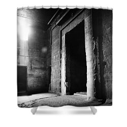 Egypt: Dendera: Temple Shower Curtain by Granger
