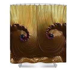 Egyptian God Shower Curtain