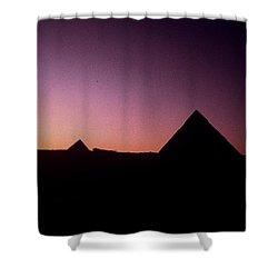 Egyptian Sunset Shower Curtain