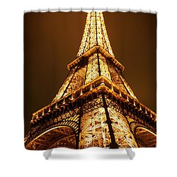 Eiffel Shower Curtain by Skip Hunt