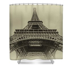 Eiffel Tower 2 Shower Curtain